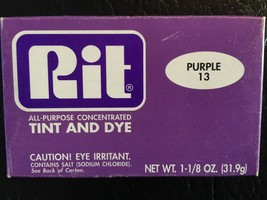 Rit Dye Powder Fabric Dye - Purple - $10.69