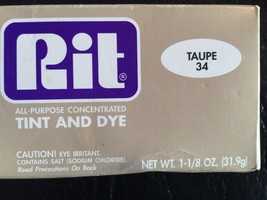Rit Dye Powder Fabric Dye - Taupe - $10.69