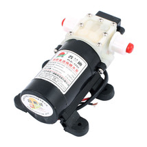 DC 12V 16W 2.4L/min Micro Motor Pump 10mm Thread Outlet Inlet Diaphragm ... - $24.73