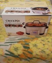 Crock-Pot 5-in-1 Multi-Cooker W/Non-Stick Inner Pot  SCCPMC600-S - $145.12