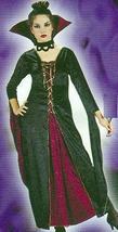 Classic Velvet Victorian Vamp Costume SIZE 2-8 Adult - $35.00