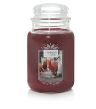 Yankee Candle Large Jar Candle 110-150 hrs 22 oz POMEGRANATE GIN FIZZ ho... - $36.14