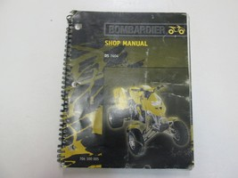 2001 Bombardier DS 7404 Shop Manual WORN FADING FACTORY OEM BOOK 01 DEAL... - $49.49