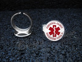 Choose Medical Alert Message Adjustable Ring - $13.00