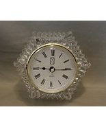 PS Paul Sebastian / Anna Hutte Led Crystal Quartz Desk Clock -Made in W.... - $7.99