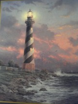 Cape Hatteras Light Print by Thomas Kinkade in 8 x 10 Print Only - $65.00