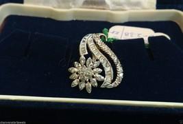 Party Gift 0.74Ct Natural Diamond Solid 14K Gold Hallmark Pendant Jewelr... - $1,540.10