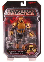 Battlestar Galactica: Razor Cylon Commander Act... - $49.99