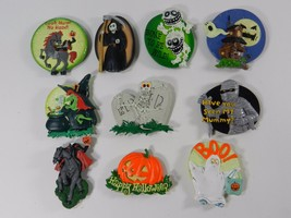 Halloween Kitchen Rubber Fridge Magnet Large Mummy Witch Monster Lot of ... - £10.59 GBP