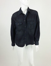 Diesel Brand New Women's De-Gertrude Denim Long Sleeve Shirt Size XS Col... - $69.47