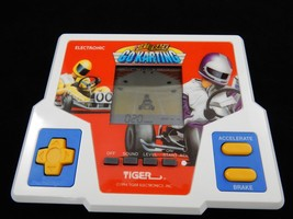 Tiger Electronics 1994 Dirt Track Go Karting Electronic Handheld Game - $19.78