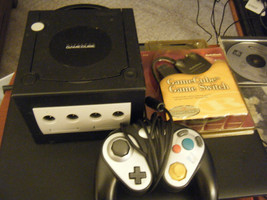 Nintendo Black GameCube Game System DOL-001 w/Controller - AS IS!!! - $49.49