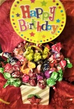 Mini Tootsie Pops Lollipop Suckers Edible Bouquet for all Age Occasions ... - £22.53 GBP