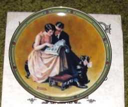 A Couple's Commitment by Norman Rockwell Ltd Ed Plate #2 - $9.99