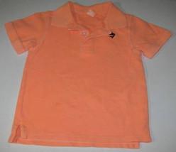 Child's Light Mango Knit Shirt Size 3T Carter's - $0.99