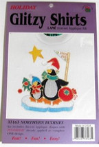 Full Color Iron-on LAME' Applique Kit Holiday Gllitzy Shirts NIP - $2.99