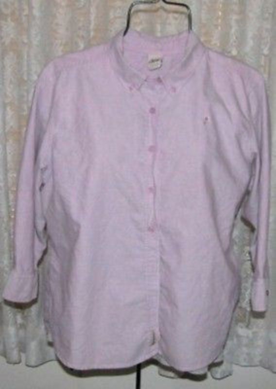 Primary image for LADIES LAVENDER Cotton SHIRT Size Large High Sierra