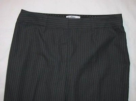 Ladies Charcoal Polyester Rayon Pants Size 10 Realities - $15.98