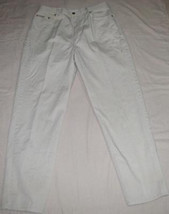 Ladies Khaki Beige Denim J EAN S Size 14 Calvin Klein Jeans - $18.98