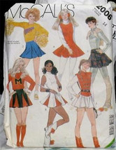 Mc Call's Costumes Pattern Adult Size 14 - $1.25