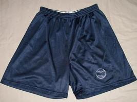Men's NAVY Polyester Shorts Adult Large Bowlark - $14.99