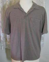 TAUPE Cotton Blend GOLF SHIRT Size XXL Van Heusen - $9.99