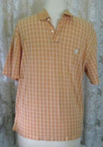 White Plaid On Mango Cotton Soft Knit Shirt Size Xxl Chaps - $12.98