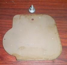 Singer 306W Beige Rear Arm Inspection Cover #105157 w/Mounting Screw #51... - $12.50
