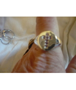 PARANORMAL SHEILD OF AZRIEL RING OF ANGELS SIZE 6 SHAMIAN CASTED - $69.99