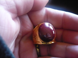Paranormal Male Psy Vampire Power Ring Size 8 - $150.00