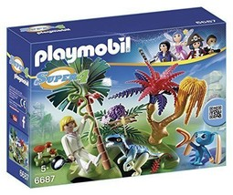 New! PLAYMOBIL 6687 Super 4 Lost Island with Al... - $24.01