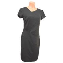 AGB Dress Black Sheath Dress Short Sleeve 31310 Sexy - $24.18