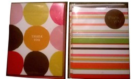 Hallmark stationary - 12 Thank You cards - 2 pa... - $8.90