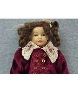 Dollhouse Victorian Girl Doll Dressed HOXC030 H... - $81.00