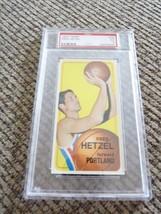 Fred Hetzel 1970 Topps Tall Boy #79 Basketball Card PSA Graded Slabbed EX 5 - $11.99