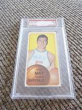 Don May 1970 Topps Tall Boy #152 Basketball Card PSA Graded Slabbed EX 5 - $9.99