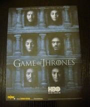 Game of Thrones HBO TV Show 1 Hong Kong magazine clipping 2016 mini poster - $9.50