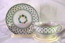 Minton Melbourne #B1789 Cream Soup Cup & Saucer - $41.39