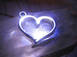 Haunted FREEBIE 3X CHARM GRACE ALLURE MAGICK 925 HEART CHARM WITCH Cassia4 - $0.00