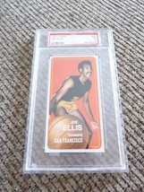 Joe Ellis 1970 Topps Tall Boy #28 Basketball Card PSA Graded Slabbed VG 3 - $9.99
