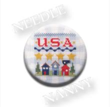 USA Needle Nanny needle minder cross stitch Liz... - $12.00