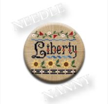 Liberty Needle Nanny needle minder cross stitch Lizzie Kate Quilt Dots - $12.00
