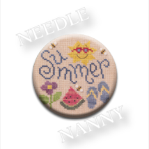 Summer Fun Needle Nanny needle minder cross stitch Lizzie Kate Quilt Dots - $12.00