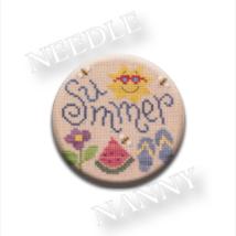 Summer Fun Needle Nanny needle minder cross sti... - $12.00