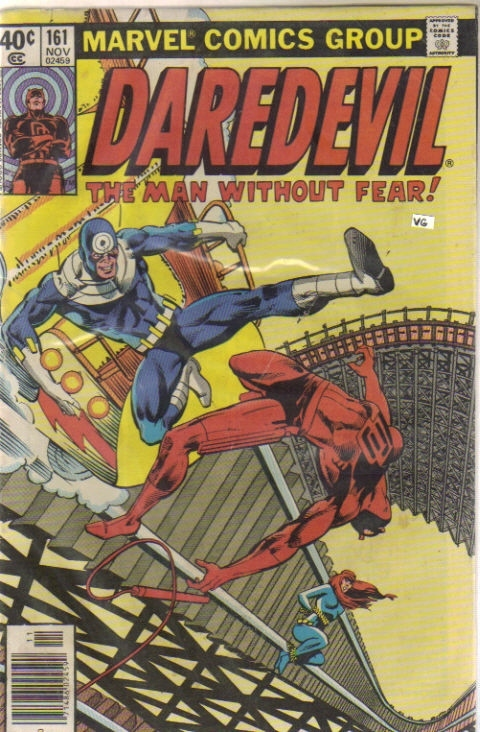 Daredevil #161. Comic Book by Frank Miller