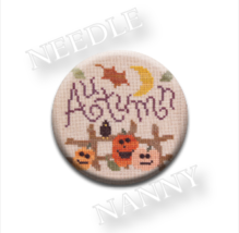 Autumn-ation Needle Nanny needle minder cross stitch Lizzie Kate Quilt Dots - $12.00