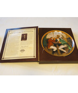 Norman Rockwell's Colonials Clinching The Deal collector plate 4071B 198... - $29.69