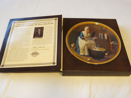 Norman Rockwell's Colonials Light for the Winter collector plate 13121B ... - $19.29