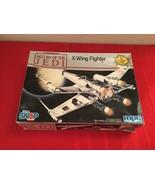 Vintage 1982-1990 Star Wars Return Of The JEDI X-Wing Fighter Model # 8932 - $25.00