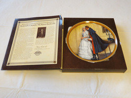 Norman Rockwell's Colonials The Unexpected Proposal collector plate 1533... - $34.64